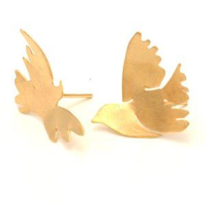 עגילי פאלוה זהב