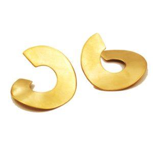 עגילי קארינה מיני זהב